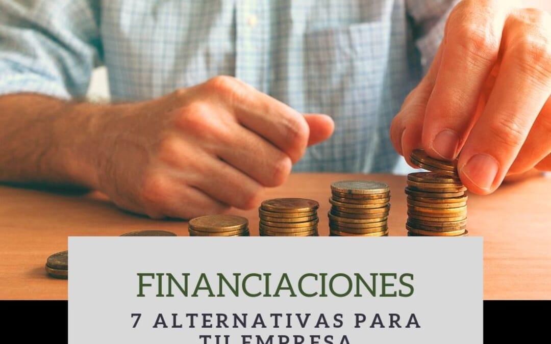 7 Financiaciones alternativas para tu empresa